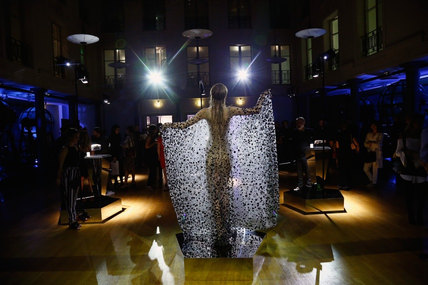 Iris Van Herpen X Swarovski Cocktail  - Paris Fashion Week - Haute Couture Fall/Winter 2017-2018
